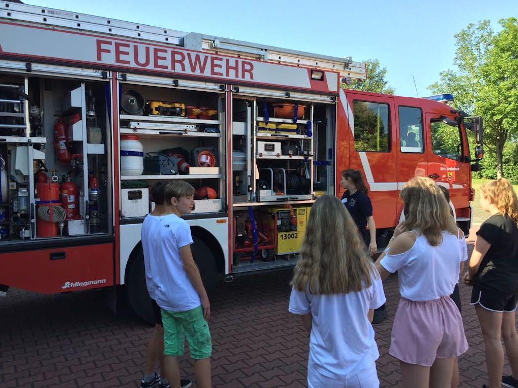 2017 2018 Feuerwehr 14 Realschule Großostheim